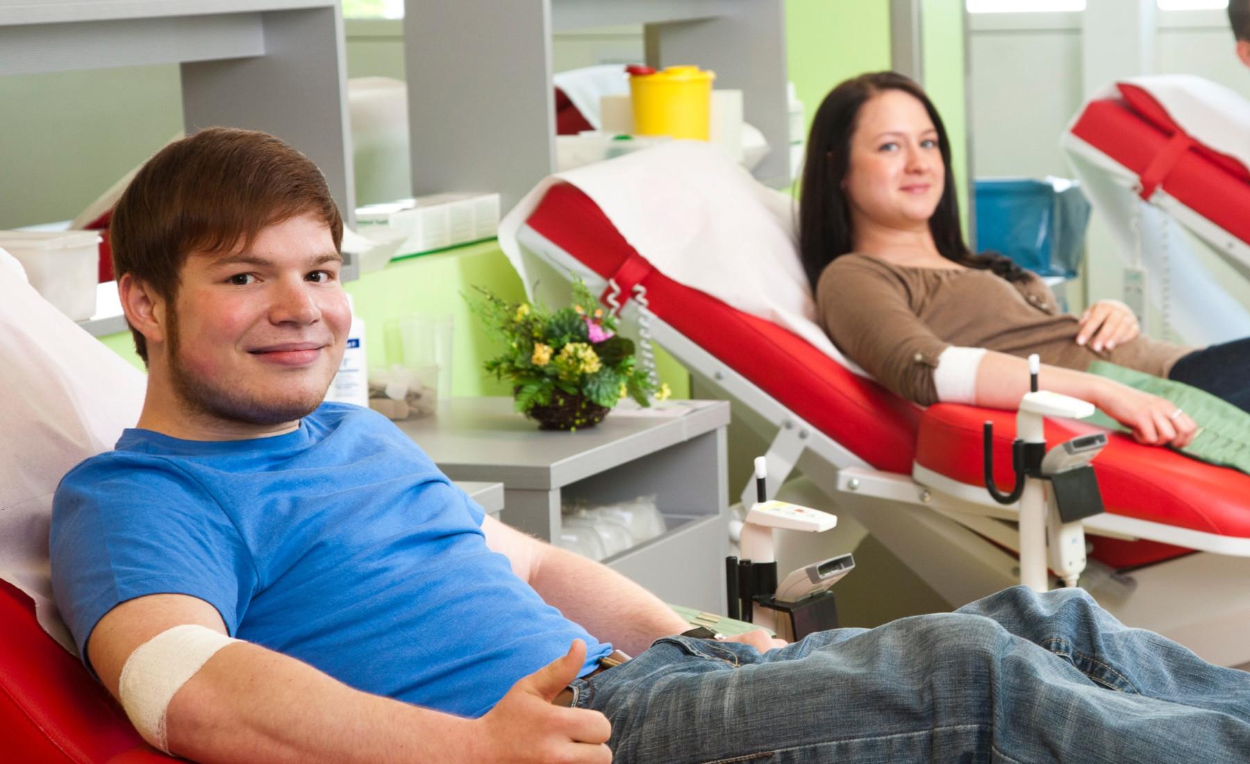 Vorteile des Blutspendens